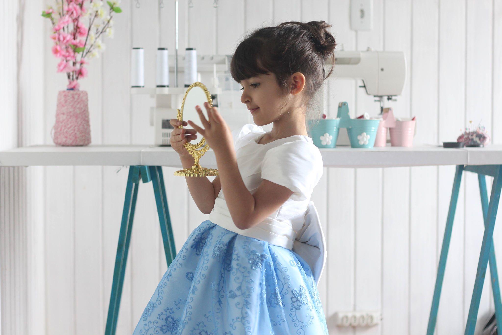 Curso de costura de vestido de festa infantil – Turma nº 04