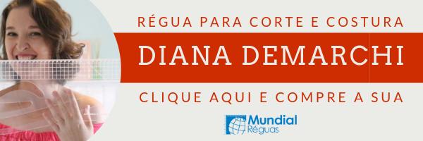 Régua de corte e costura Diana Demarchi