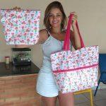 Michelle Filgueira Queiroz - Aluna do Curso de costura para iniciantes método Dcosturar