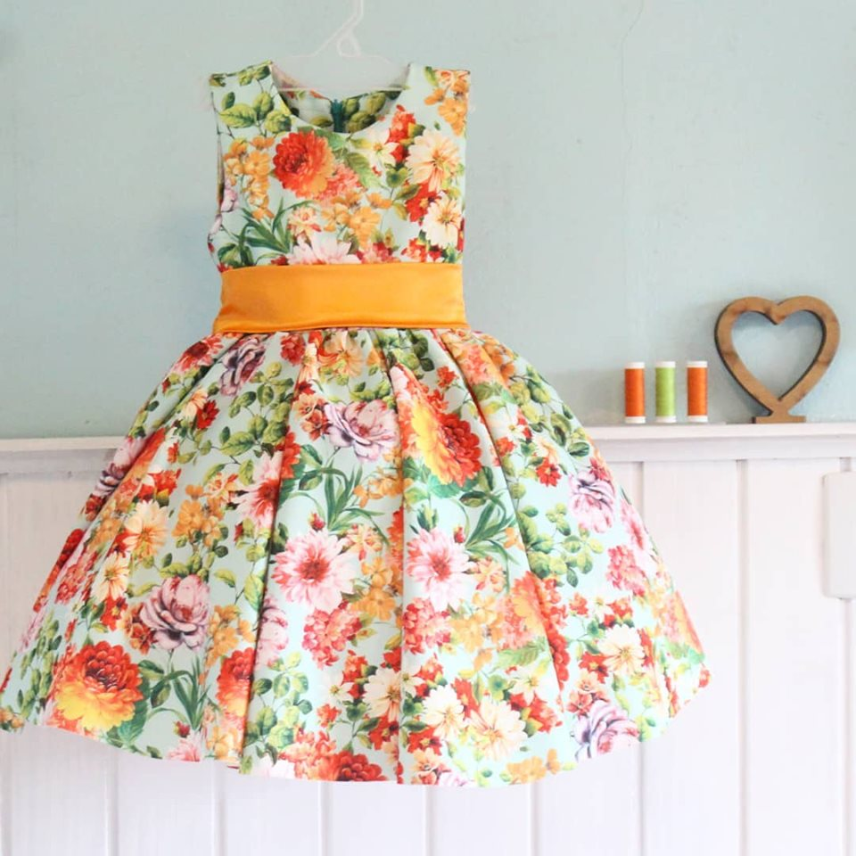 Curso de costura de vestido de festa infantil – Turma nº 05
